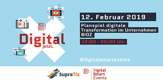 Event Planspiel digitale Transformation im Unternehmen mit SupraTix