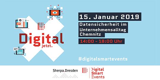 Event Datensicherheit im Unternehmensalltag mit Sherpa.Dresden